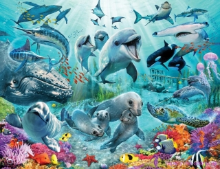 Walltastic fototapeta Under the Sea 304,8 x 243,8 cm