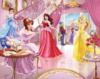 Fototapeta Walltastic Princess New Scene 304,8 x 243,8 cm